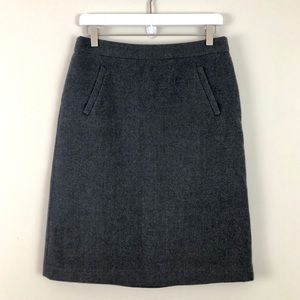 J. Crew Sterling skirt in double-serge wool
